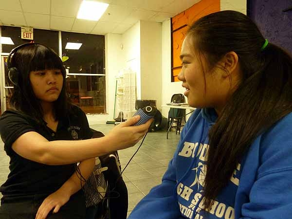<p>&lt;p&gt;Dinh To (left) and Yingci Chen practice their interview skills on on each other. (Courtesy of Philly Youth Radio)&lt;/p&gt;</p>