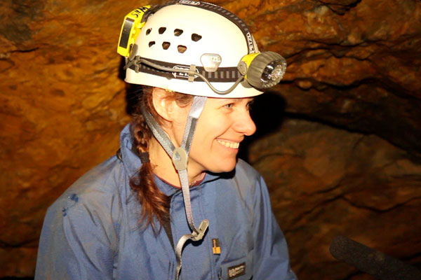 Hazel Barton is a cave microbiologist from Northern Kentucky University