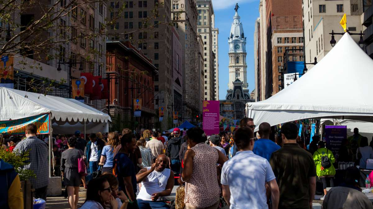 Thousands flocked to South Broad Street for the fifth annual PIFA Street fair.