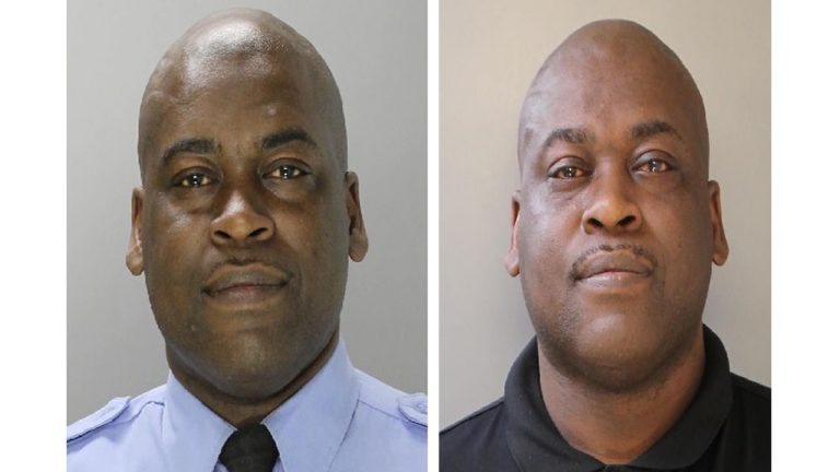 Officer Ross Scott, 43 years old, and a 9-year veteran of the PPD assigned to the 22nd District was arrested and charged with four counts of aggravated assault, simple assault, recklessly endangering another person and possession of an instrument of crime.(Philadelphia Police Department)