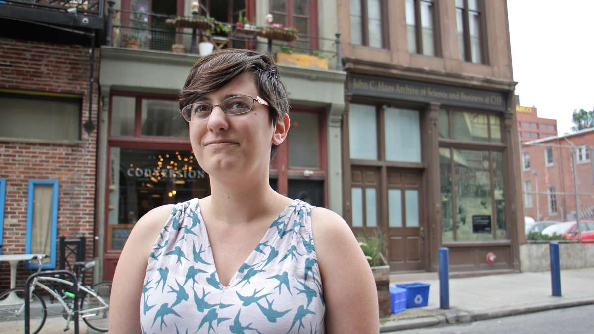 Rebecca Ortenberg produced the Chemical Heritage Foundation's walking tour, ''Things Fall Apart,'' a look at the science and philosophy of preservation in Philadelphia's Old City neighborhood.