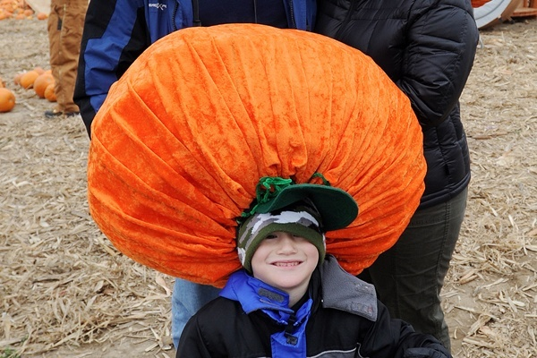 <p><p>Not only does this hat celebrate Punkin Chunkin, it also looks very warm. (Chuck Snyder/for NewsWorks)</p></p>