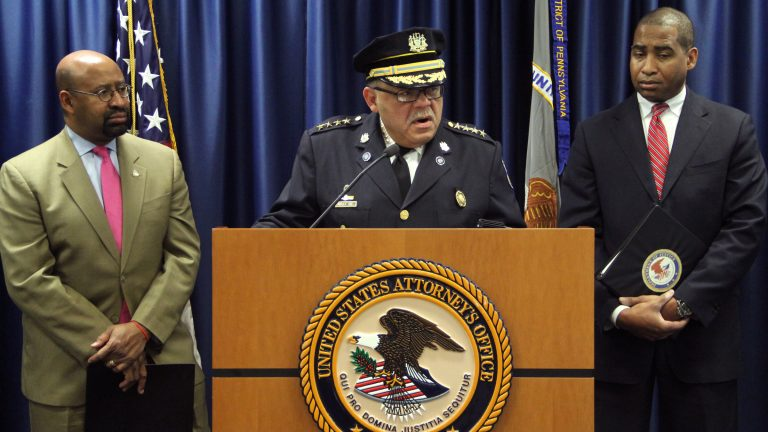 Based on Department of Justice recommendations, Philadelphia Police Commissioner Charles Ramsey is calling for state investigations of police-involved shootings. (Emma Lee/WHYY)