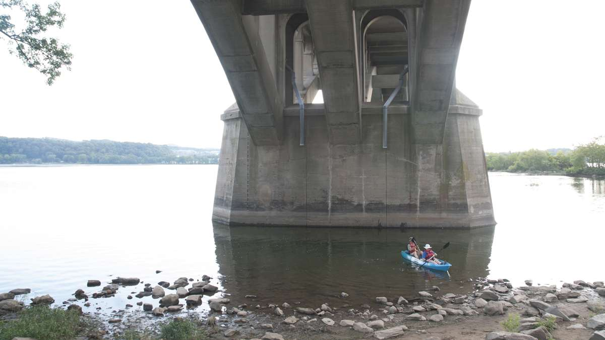 Columbia's boat launch site includes picnic space and canoe rentals. (Diana Robinson/WITF)