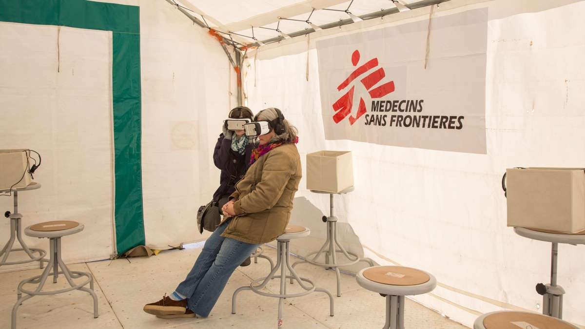 Using new technology to reach a greater audience, MSF created three Virtual Reality video experiences telling the stories of displaced individuals from camps in Iraq, Mexico, and Tanzania.