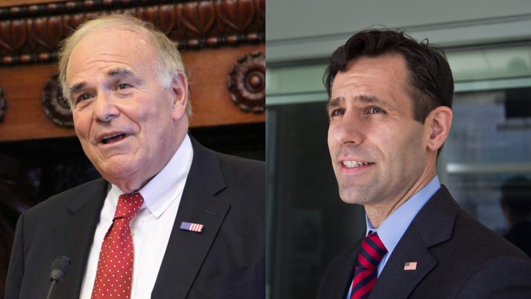 Former Pennsylvania Gov. Ed Rendell is expected to endorse Joe Khan for the Philadelphia Office of District Attorney. (NewsWorks file photos)