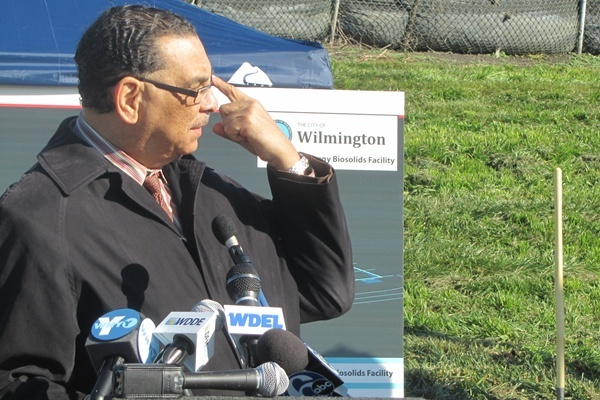"<p><p>""The green improvements at the Hay Road Plant represent another significant step towards building a more sustainable future for Wilmington residents,"" said Mayor Baker. (Mark Eichmann/WHYY)</p></p>"