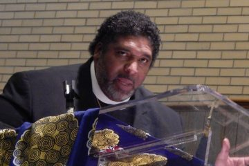 Rev. William J. Barber II speaks at Shiloh Baptist Church in Trenton, Thurs., March 9, 2017 (Antoinette MilesDigital Media AssociateCommunications Workers of America (AFL-CIO), District 1)