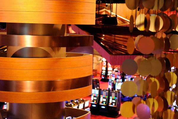 <p>&lt;p&gt;A look above some of the slot machines at the new Revel casino-hotel. (Photo courtesy of Revel Entertainment)&lt;/p&gt;</p>