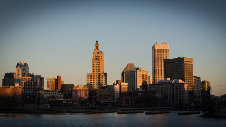 Downtown Providence, Rhode Island. (<a href=