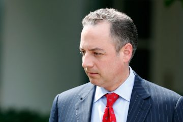 White House Chief of Staff Reince Priebus shown in the Rose Garden of the White House, Tuesday, July 25, 2017, in Washington. (Alex Brandon/AP Photo)