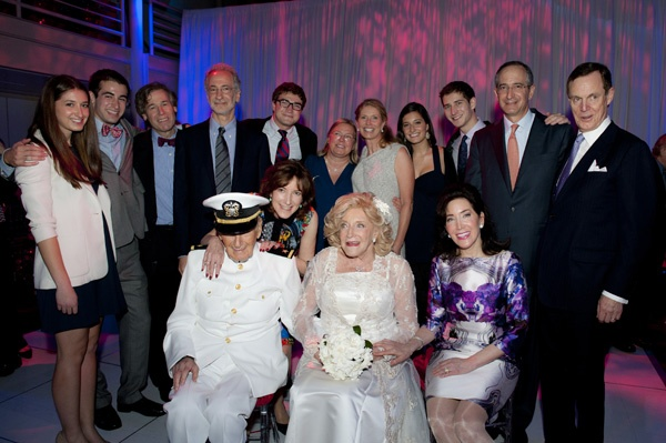 <p><p>The Roberts family (front row from left); Ralph, Lisa, Suzanne, Cathy Clifton; (standing) Sarah, Evan Seltzer, David Seltzer, Rob, Daniel, Diane, Aileen, Amanda, Tucker, Brian, Anthony Clifton (Photo courtesy of Susan Beard Design)</p></p>