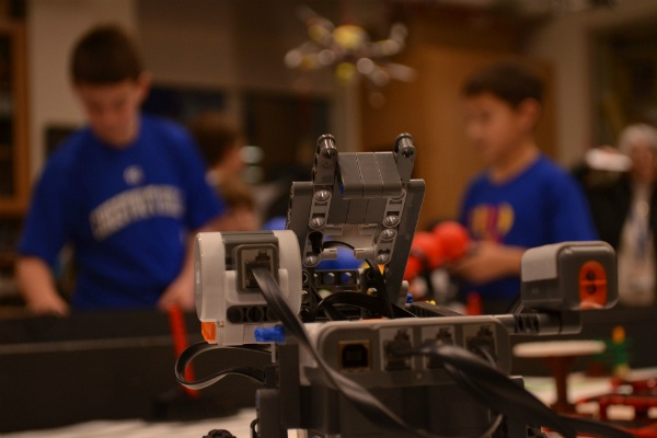 <p><p>The SCH boys' Lego NXT robot. (Zachary Shevich/for NewsWorks)</p></p>