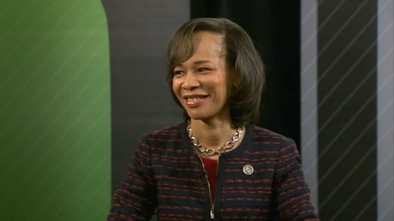 Walker faces first-time Democaratic incumbent Lisa Blunt Rochester in the race for Congress. (WHYY file)