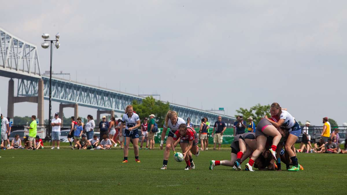 The women's teams from Penn State and Ohio State faced off during Saturday's tournament.