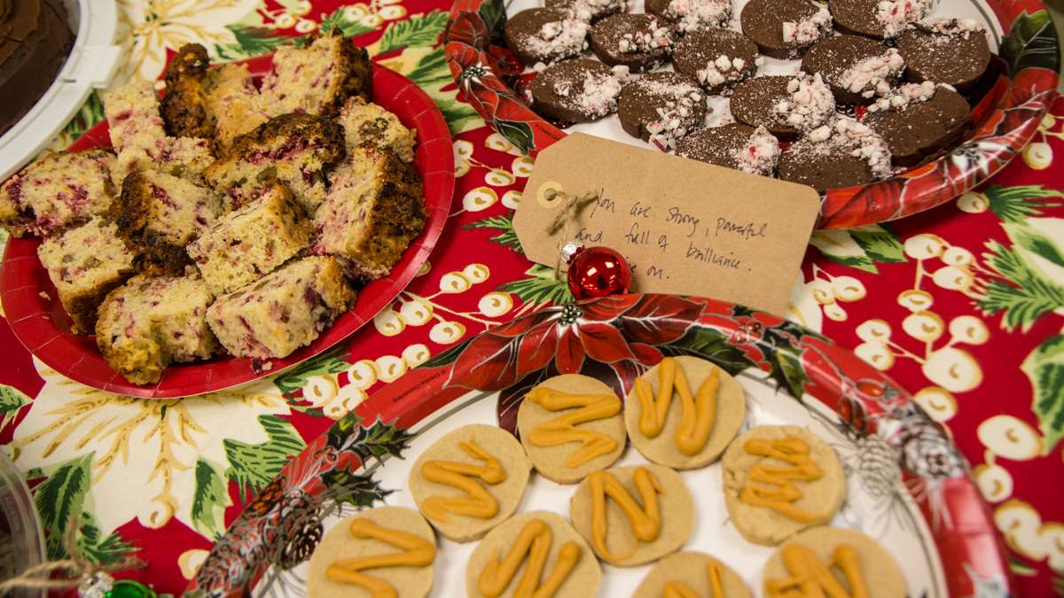 Richard Wright elementary teachers are gifted baked goods from supporters outside the city.