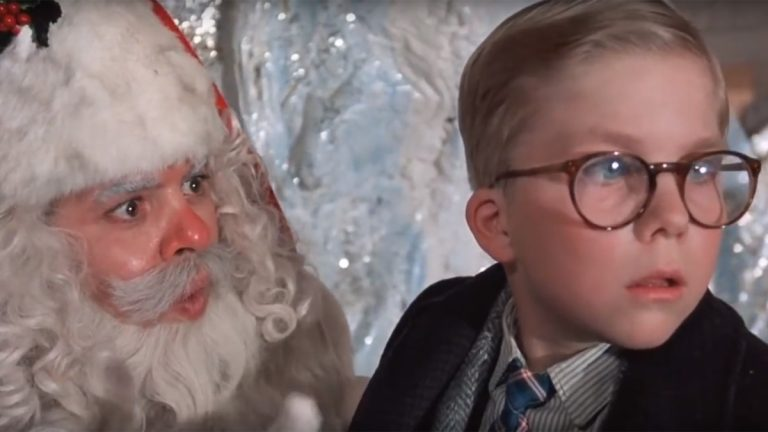 Still image from 'A Christmas Story'