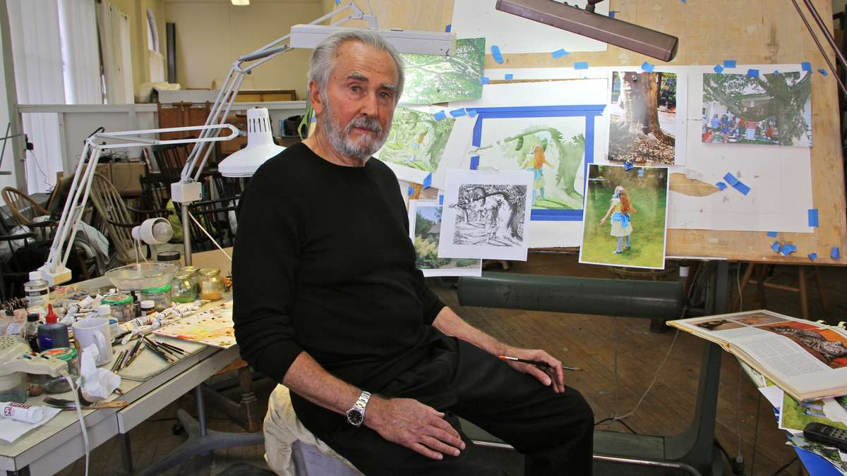 Charles Santore, Philly illustrator of classic children's books, dies at 84