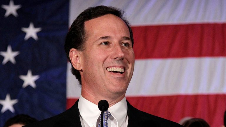 Former Pennsylvania Sen. Rick Santorum speaks in Cranberry, Pa. (Jae C. Hong/AP Photo, file)