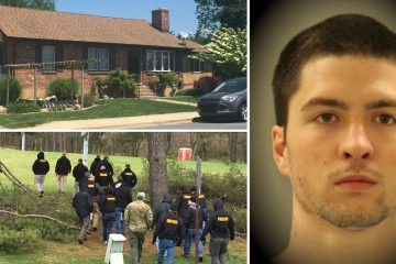 Charges against Daniel Santucci in a 2010 attack at his Elsmere home were dropped. He's now facing charges in the kidnapping and sexual assault of a 4-year-old girl who was found after being thrown in a pond in April. (Photos clockwise from left Cris Barrish/WHYY; NCCPD; WHYY file)