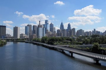 The Philadelphia skyline (Ashley Hahn / WHYY)