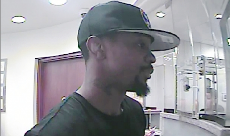 Photo of alleged robber Carl Goodwin from an Aramingo Avenue bank robbery. (Courtesy of the FBI)