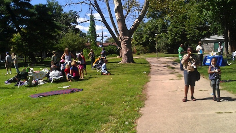 A view of the park during Vernon Park Family Fun Day last fall. (Courtesy of YahNe Ndgo Baker)