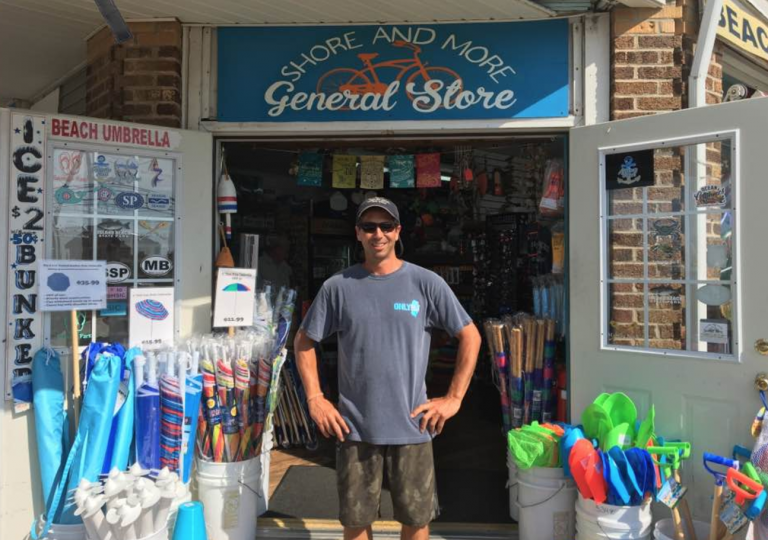 In Seaside Park, Shore and More General Store owner Dominick Solazzo says the ongoing Island Beach State Park closure has been tough on his business. (Image courtesy of Dominick Solazzo)