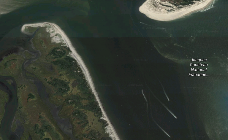 The Little Egg Inlet. (Google Maps image)