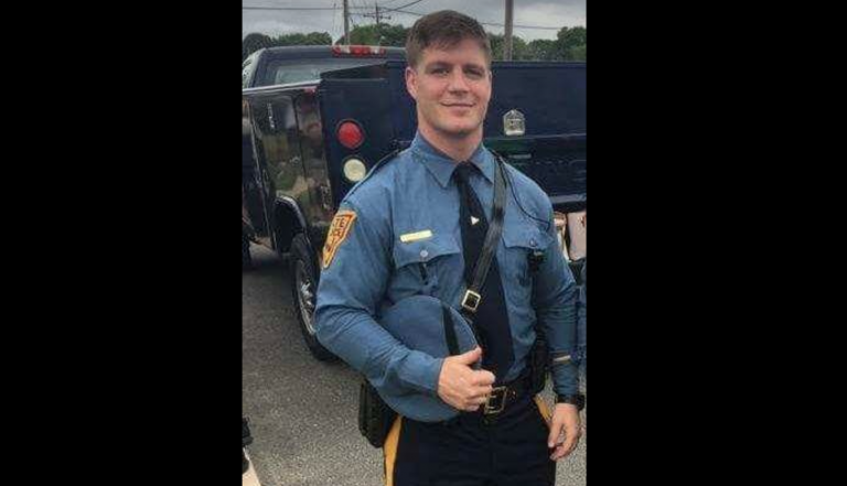 Trooper Joseph Falco. (Image courtesy of the New Jersey State Police)