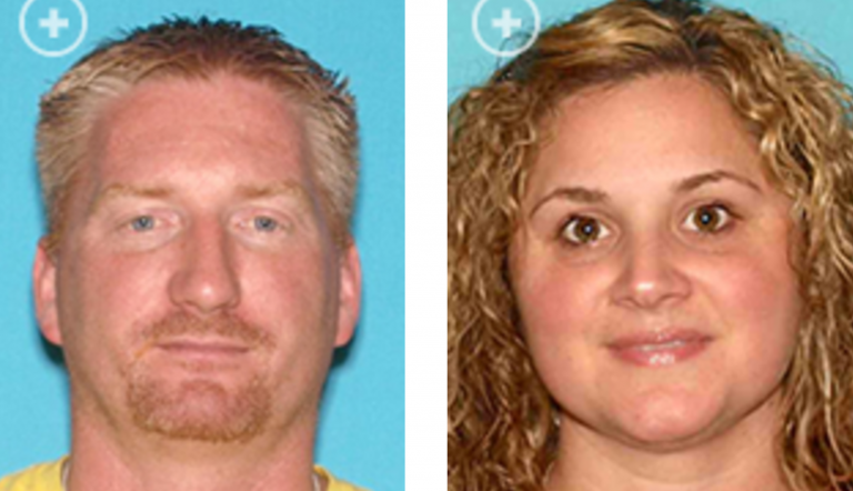 Jeffrey Colmyer, 41, and Tiffany Cimino, 33, both of Little Egg Harbor, were indicted Tuesday on various charges related to  allegedly stealing hundreds of thousands of dollars from Sandy victims needing home contracting services. (Image courtesy of the NJ Office of Attorney General)