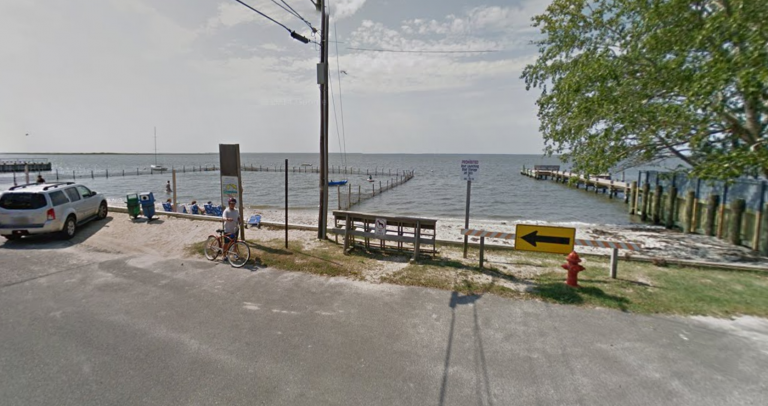 The New Jersey Avenue bay beach in Long Beach Township. (Google Maps)
