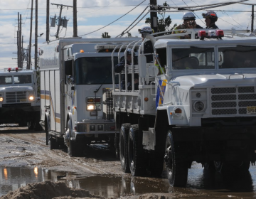 A file photo of New Jersey Task Force 1 members in action. (NJOEM photo)