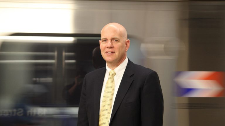 Jeff Knueppel, SEPTA's new general manager, says the transit agency did well in transporting papal pilgrims to events in Center City and home again. (File photo)