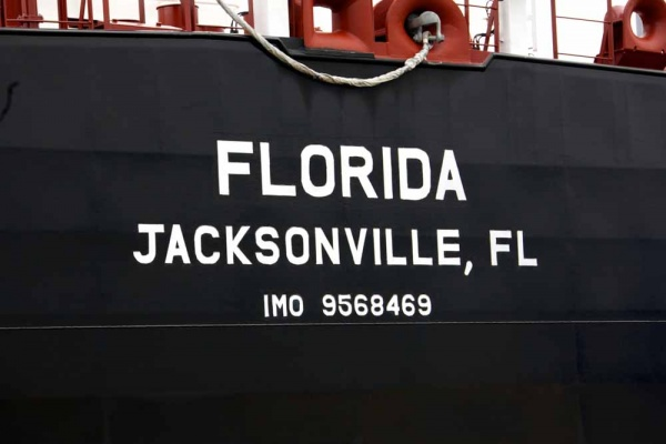 <p><p>The Florida is one of two U.S. flagged tankers recently acquired by Crowley Maritime Corporation, built at Aker Philadelphia Shipyard. (Nat Hamilton/for NewsWorks)</p></p>