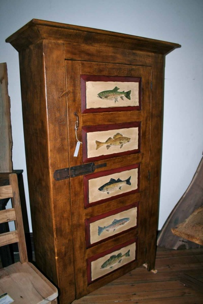 <p><p>The shop also has this fish-themed dresser at the Main Street location. (Lane Blackmer/for NewsWorks)</p></p>
