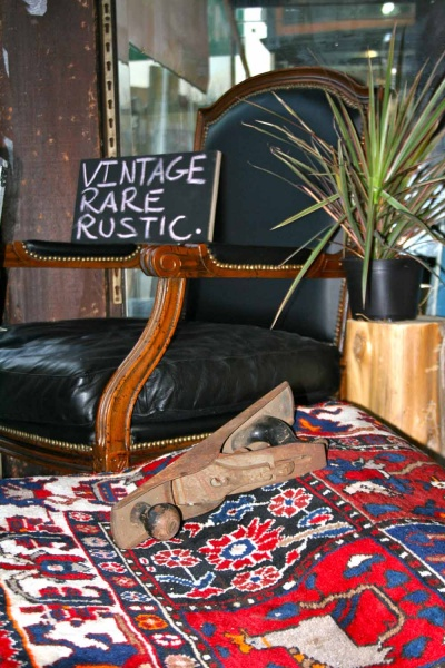 <p><p>C. Robert Furniture Concepts features vintage and rustic household items at its new pop-up shop on Main Street in Manayunk. (Lane Blackmer/for NewsWorks)</p></p>