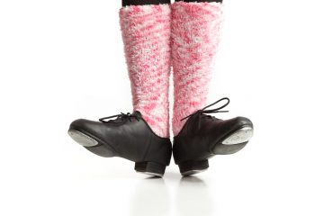 (<a href='http://www.shutterstock.com/pic-138538601/stock-photo-girl-s-dancing-feet-in-tap-shoes-and-pink-socks.html'>Tap shoes</a> image courtesy of Shutterstock.com)