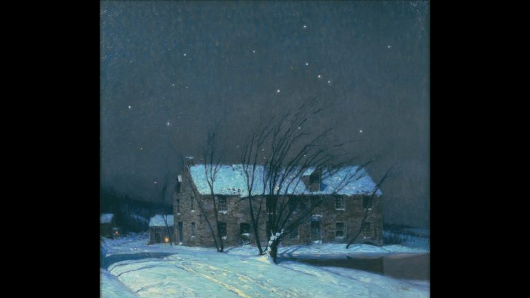 George Sotter's ''Silent Night'' (Michener Museum)