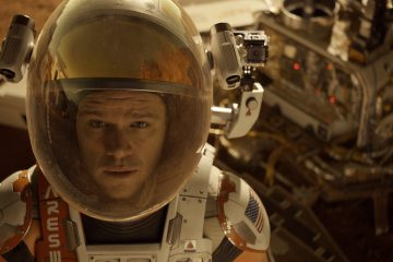 Astronaut Mark Watney (Matt Damon) finds himself stranded and alone on Mars