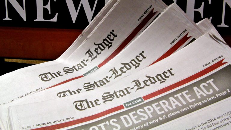 The struggling Star-Ledger newspaper has announced that it will sell its headquarters building in Newark, N.J. (Emma Lee/for NewsWorks)