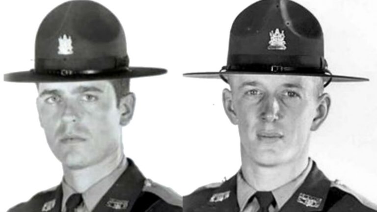 Trooper Ronald Carey (left) and David Yarrington were the last Delaware State Police troopers killed by gunfire back in 1972. (photo courtesy Delaware State Police)