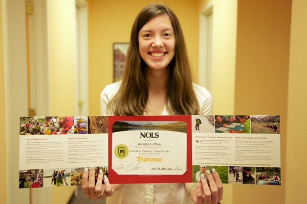 <p>&lt;p&gt;Breanne Olsen, a Summer Search student from Philadelphia, received her National Outdoor Leadership School certificate in the mail. (Nathaniel Hamilton/for NewsWorks)&lt;/p&gt;</p>
