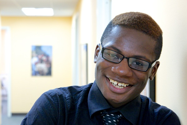 <p>&lt;p&gt;Summer Search student Joseph English is 18 and is attending Abraham Lincoln High School. (Nathaniel Hamilton/for NewsWorks)&lt;/p&gt;</p>