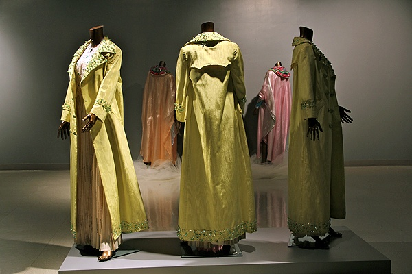 <p>A new exhibit at the African American Museum features more than 30 gowns worn by The Supremes. (Emma Lee/for NewsWorks)</p>