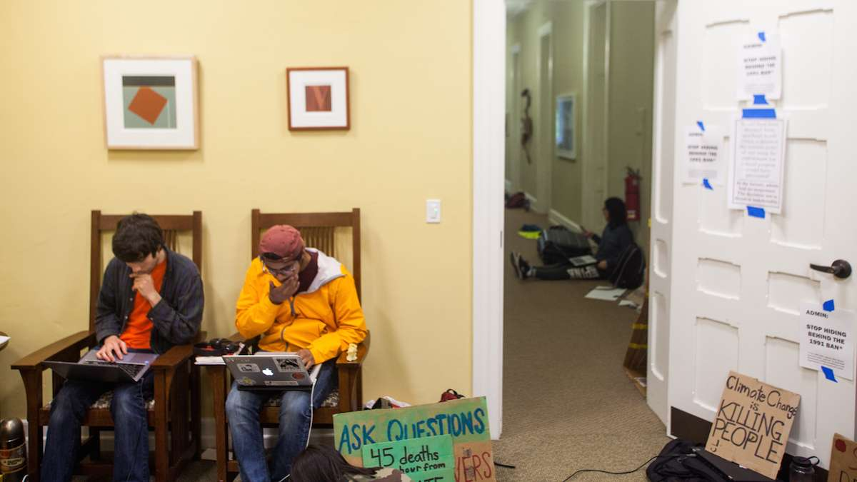Swarthmore College students launch new sit-in for ...