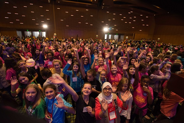 The Society of Women Engineers has a number of programs to help girls get more interested in the field. One will be presented during its world convention in Philadelphia this week (Image courtesy Society of Women Engineers)