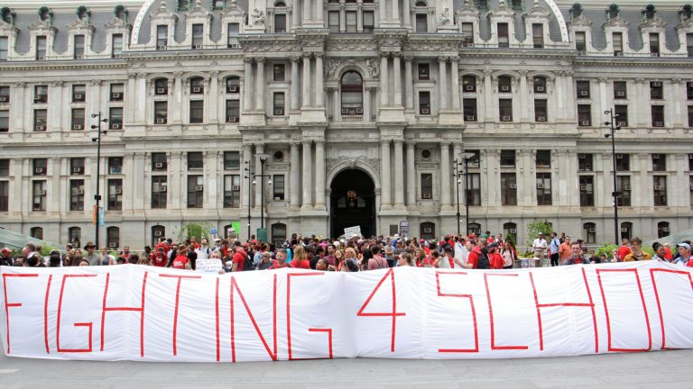 Philly Reaches Tentative Contract With Teachers  Education  Whyy