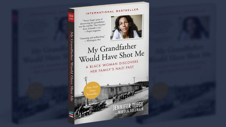 Jennifer Teege's new book, 'My Grandfather Would Have Shot Me: A Black Woman Discovers Her Family's Nazi Past' (Cover image via The Experiment Publishing)