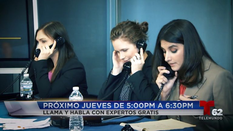 The Spanish-language network Telemundo will hold its third immigration phone bank on Thursday. Callers will be able to speak with local immigration lawyers for free. (Telemundo62 Philadelphia)